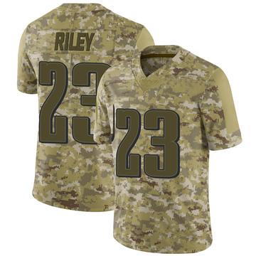 Youth Nike Philadelphia Eagles Elijah Riley Camo 2018 Salute to Service Jersey - Limited