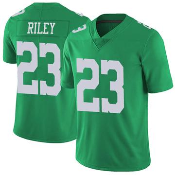 Youth Nike Philadelphia Eagles Elijah Riley Green Vapor Untouchable Jersey - Limited