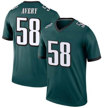 Youth Nike Philadelphia Eagles Genard Avery Green Jersey - Legend