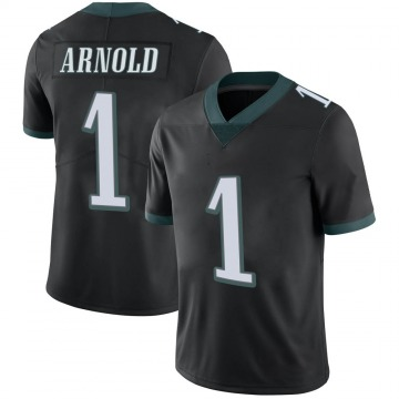 Youth Nike Philadelphia Eagles Grayland Arnold Black Alternate Vapor Untouchable Jersey - Limited