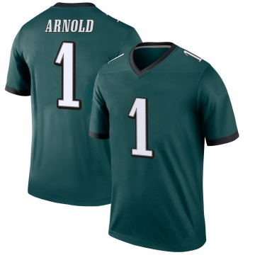 Youth Nike Philadelphia Eagles Grayland Arnold Green Jersey - Legend