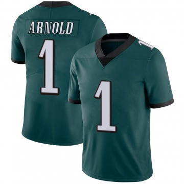 Youth Nike Philadelphia Eagles Grayland Arnold Green Midnight 100th Vapor Jersey - Limited