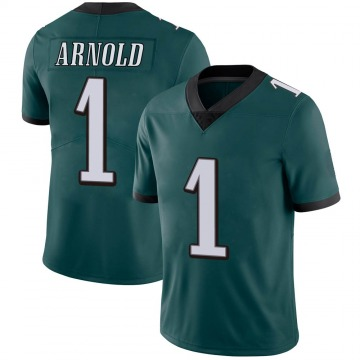 Youth Nike Philadelphia Eagles Grayland Arnold Green Midnight Team Color Vapor Untouchable Jersey - Limited