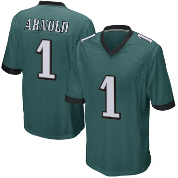 Youth Nike Philadelphia Eagles Grayland Arnold Green Team Color Jersey - Game