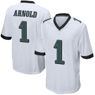 Youth Nike Philadelphia Eagles Grayland Arnold White Jersey - Game