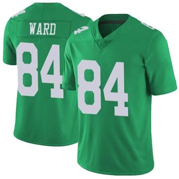 Youth Nike Philadelphia Eagles Greg Ward Jr. Green Vapor Untouchable Jersey - Limited