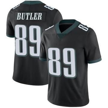 Youth Nike Philadelphia Eagles Hakeem Butler Black Alternate Vapor Untouchable Jersey - Limited