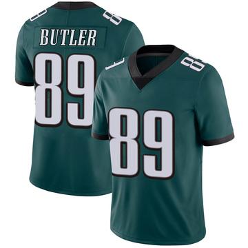 Youth Nike Philadelphia Eagles Hakeem Butler Green Midnight 100th Vapor Jersey - Limited