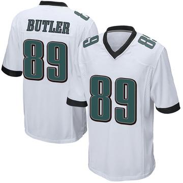 Youth Nike Philadelphia Eagles Hakeem Butler White Jersey - Game