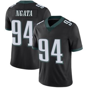 Youth Nike Philadelphia Eagles Haloti Ngata Black Alternate Vapor Untouchable Jersey - Limited