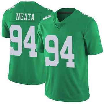 Youth Nike Philadelphia Eagles Haloti Ngata Green Vapor Untouchable Jersey - Limited