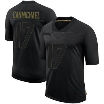 Youth Nike Philadelphia Eagles Harold Carmichael Black 2020 Salute To Service Jersey - Limited