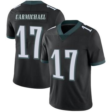 Youth Nike Philadelphia Eagles Harold Carmichael Black Alternate Vapor Untouchable Jersey - Limited