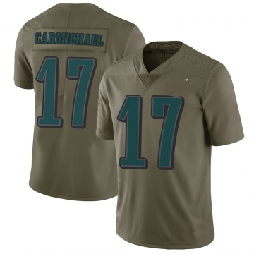 Youth Nike Philadelphia Eagles Harold Carmichael Green 2017 Salute to Service Jersey - Limited