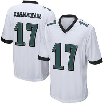 Youth Nike Philadelphia Eagles Harold Carmichael White Jersey - Game
