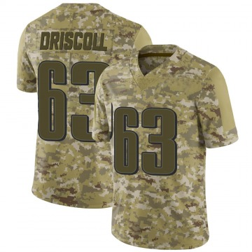Youth Nike Philadelphia Eagles Jack Driscoll Camo 2018 Salute to Service Jersey - Limited