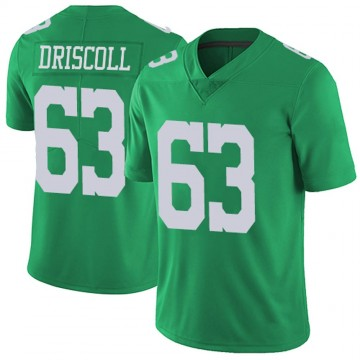 Youth Nike Philadelphia Eagles Jack Driscoll Green Vapor Untouchable Jersey - Limited