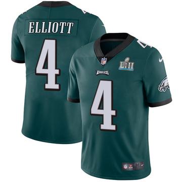 Youth Nike Philadelphia Eagles Jake Elliott Green Midnight Team Color Super Bowl LII Vapor Untouchable Jersey - Limited