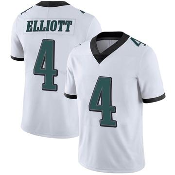 Youth Nike Philadelphia Eagles Jake Elliott White Vapor Untouchable Jersey - Limited
