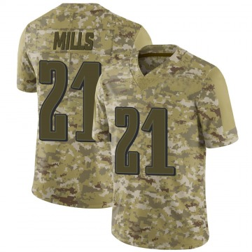 Youth Nike Philadelphia Eagles Jalen Mills Camo 2018 Salute to Service Jersey - Limited
