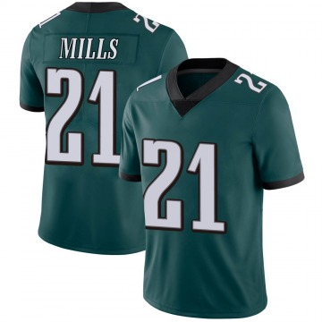 Youth Nike Philadelphia Eagles Jalen Mills Green Midnight 100th Vapor Jersey - Limited
