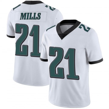 Youth Nike Philadelphia Eagles Jalen Mills White Vapor Untouchable Jersey - Limited