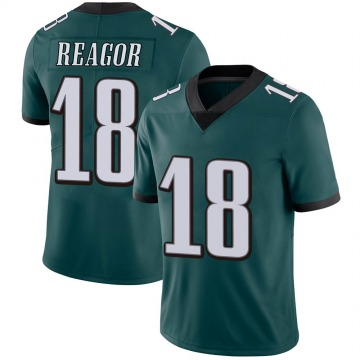 Youth Nike Philadelphia Eagles Jalen Reagor Green Midnight 100th Vapor Jersey - Limited