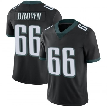 Youth Nike Philadelphia Eagles Jamon Brown Black Alternate Vapor Untouchable Jersey - Limited