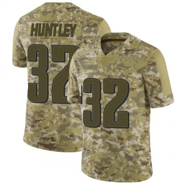 Youth Nike Philadelphia Eagles Jason Huntley Camo 2018 Salute to Service Jersey - Limited