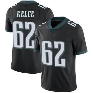 Youth Nike Philadelphia Eagles Jason Kelce Black Alternate Vapor Untouchable Jersey - Limited