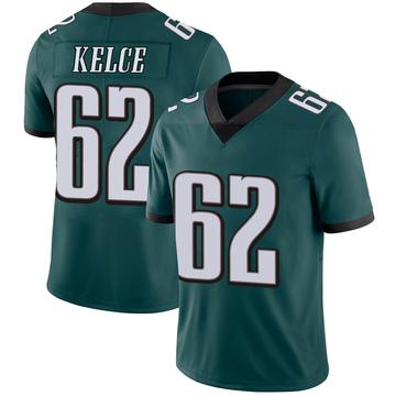 Youth Nike Philadelphia Eagles Jason Kelce Green Midnight 100th Vapor Jersey - Limited