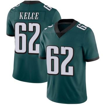 Youth Nike Philadelphia Eagles Jason Kelce Green Midnight Team Color Vapor Untouchable Jersey - Limited