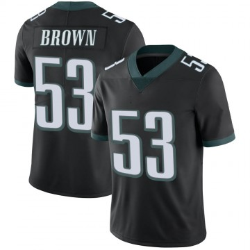 Youth Nike Philadelphia Eagles Jatavis Brown Black Alternate Vapor Untouchable Jersey - Limited