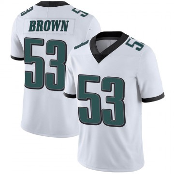 Youth Nike Philadelphia Eagles Jatavis Brown White Vapor Untouchable Jersey - Limited