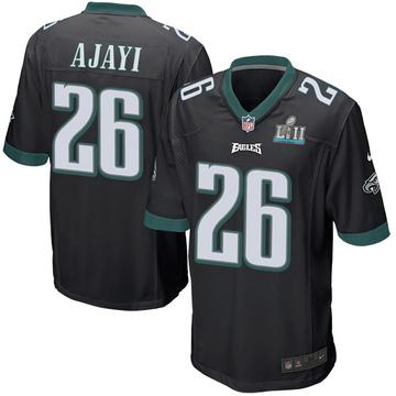 Youth Nike Philadelphia Eagles Jay Ajayi Black Alternate Super Bowl LII Jersey - Game