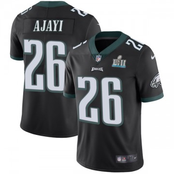 Youth Nike Philadelphia Eagles Jay Ajayi Black Alternate Super Bowl LII Vapor Untouchable Jersey - Limited