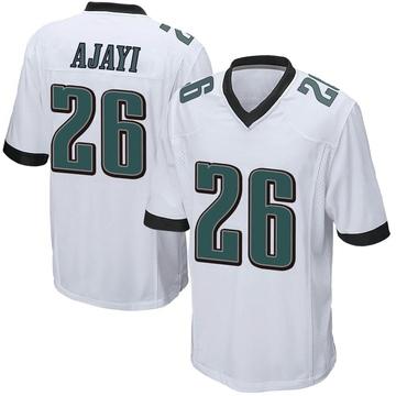 Youth Nike Philadelphia Eagles Jay Ajayi White Jersey - Game