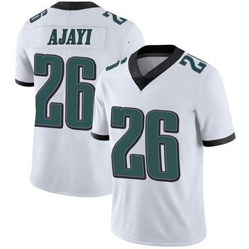Youth Nike Philadelphia Eagles Jay Ajayi White Vapor Untouchable Jersey - Limited