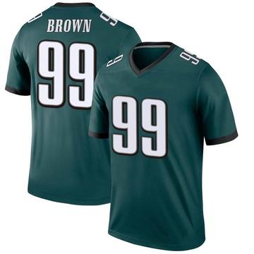Youth Nike Philadelphia Eagles Jerome Brown Green Jersey - Legend