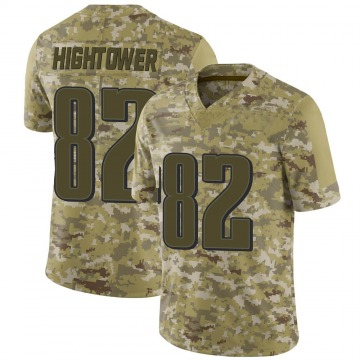 Youth Nike Philadelphia Eagles John Hightower Camo 2018 Salute to Service Jersey - Limited