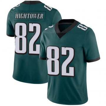 Youth Nike Philadelphia Eagles John Hightower Green Midnight 100th Vapor Jersey - Limited