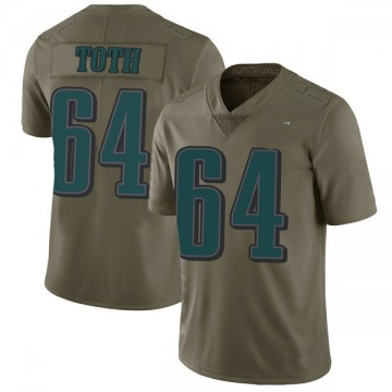 Youth Nike Philadelphia Eagles Jon Toth Green 2017 Salute to Service Jersey - Limited