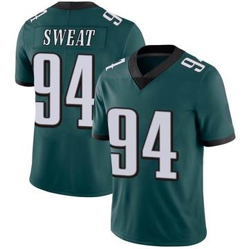 Youth Nike Philadelphia Eagles Josh Sweat Green Midnight Team Color Vapor Untouchable Jersey - Limited
