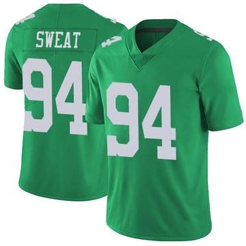 Youth Nike Philadelphia Eagles Josh Sweat Green Vapor Untouchable Jersey - Limited