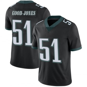 Youth Nike Philadelphia Eagles Julian Good-Jones Black Alternate Vapor Untouchable Jersey - Limited
