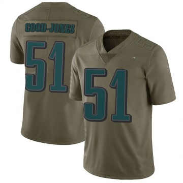 Youth Nike Philadelphia Eagles Julian Good-Jones Green 2017 Salute to Service Jersey - Limited