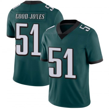 Youth Nike Philadelphia Eagles Julian Good-Jones Green Midnight 100th Vapor Jersey - Limited