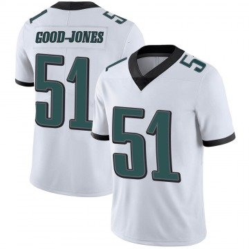 Youth Nike Philadelphia Eagles Julian Good-Jones White Vapor Untouchable Jersey - Limited