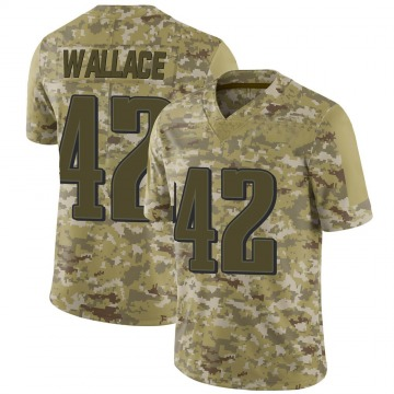 Youth Nike Philadelphia Eagles K'Von Wallace Camo 2018 Salute to Service Jersey - Limited