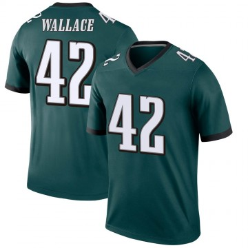 Youth Nike Philadelphia Eagles K'Von Wallace Green Jersey - Legend